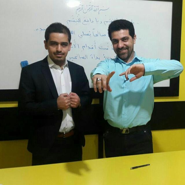 سعید زلوحی جوکار شاگرد مستقیم استاد احمدی