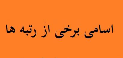 24 - اسامی برخی دیگر از رتبه های موسسه کنکور آسان است استاد احمدی